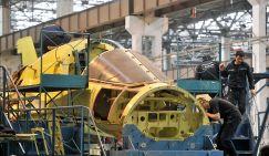 Сборка истребителя-бомбардировщика Су-34 на Новосибирском авиационном заводе (НАЗ) имени В.П. Чкалова