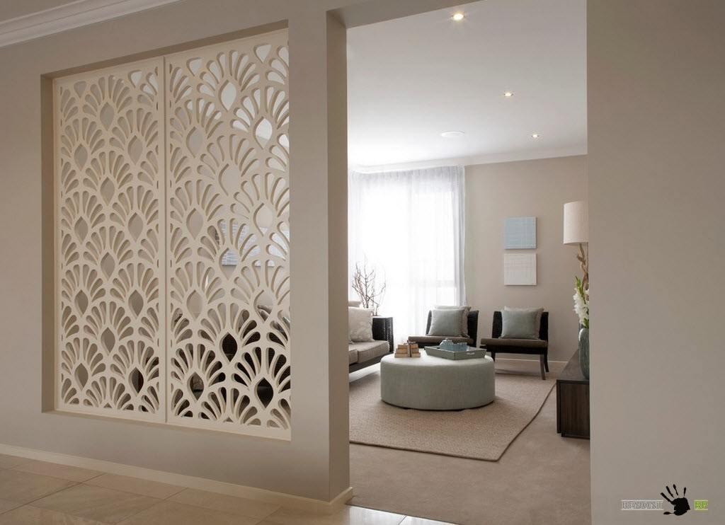 Декоративные перегородки в дизайне интерьера