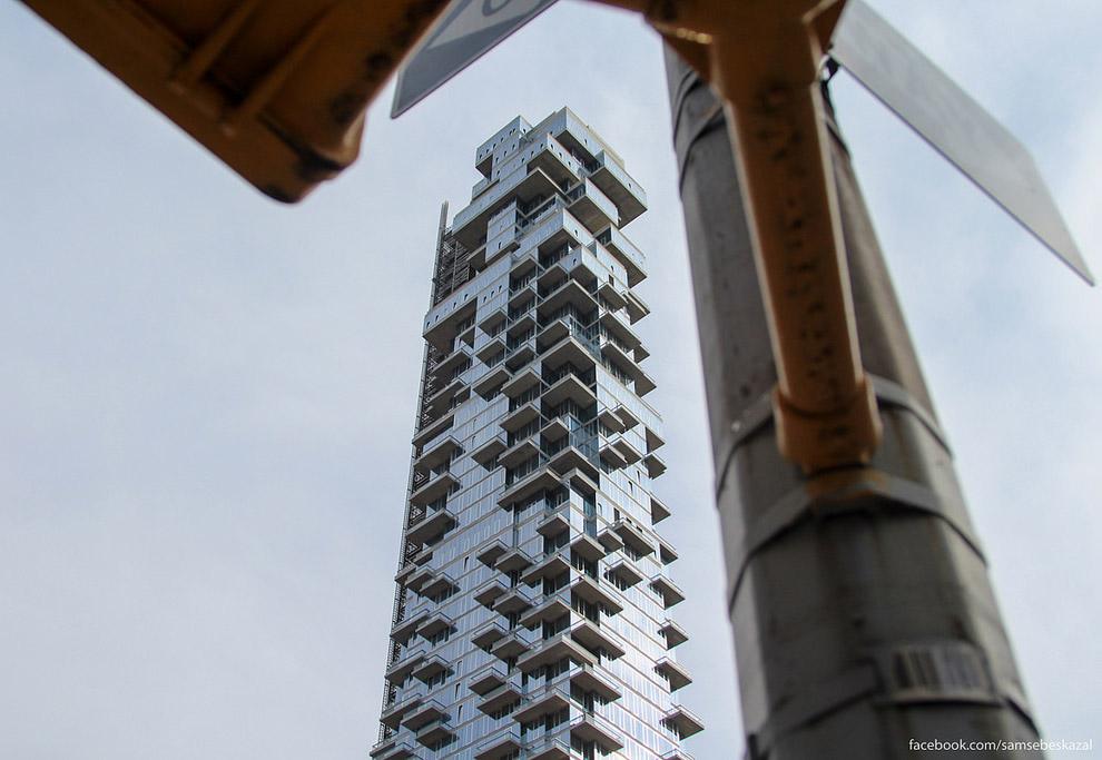 Один из самых крутых новых небоскребов Нью-Йорка