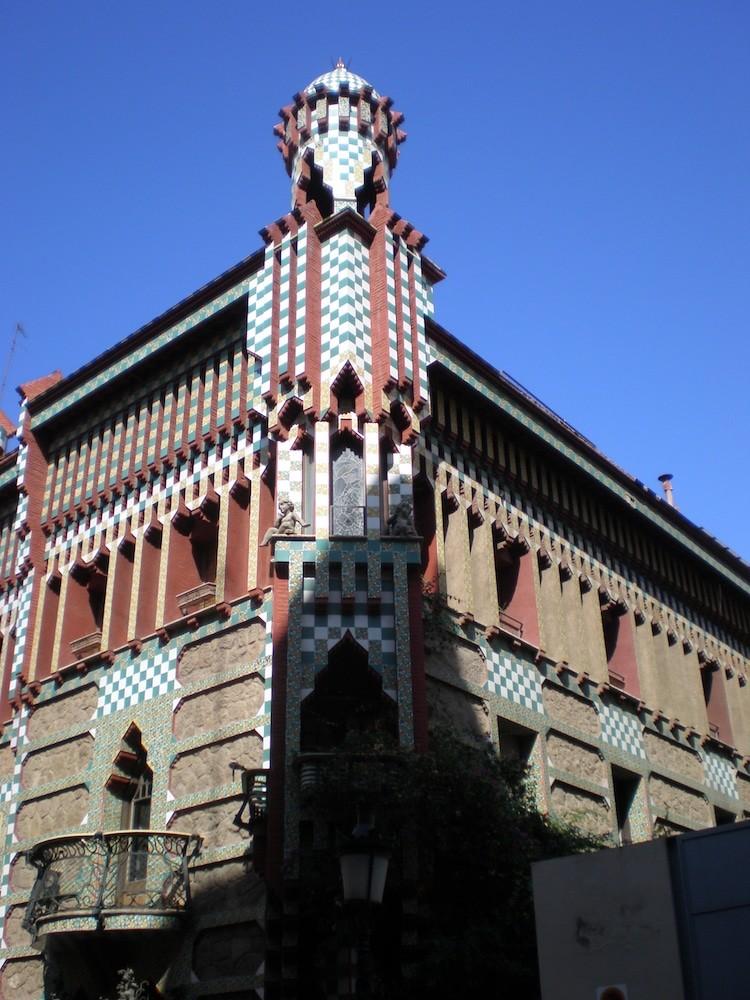5. Дом Висенс Гауди, архитектор, архитектура, здания, искусство, красиво, фото, шедевр