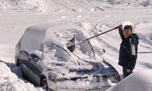 Что не стоит делать с машиной в мороз