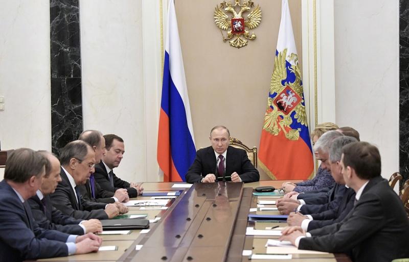 Путин и члены Совбеза РФ констатировали неизбежные негативные последствия агрессии в Сирии