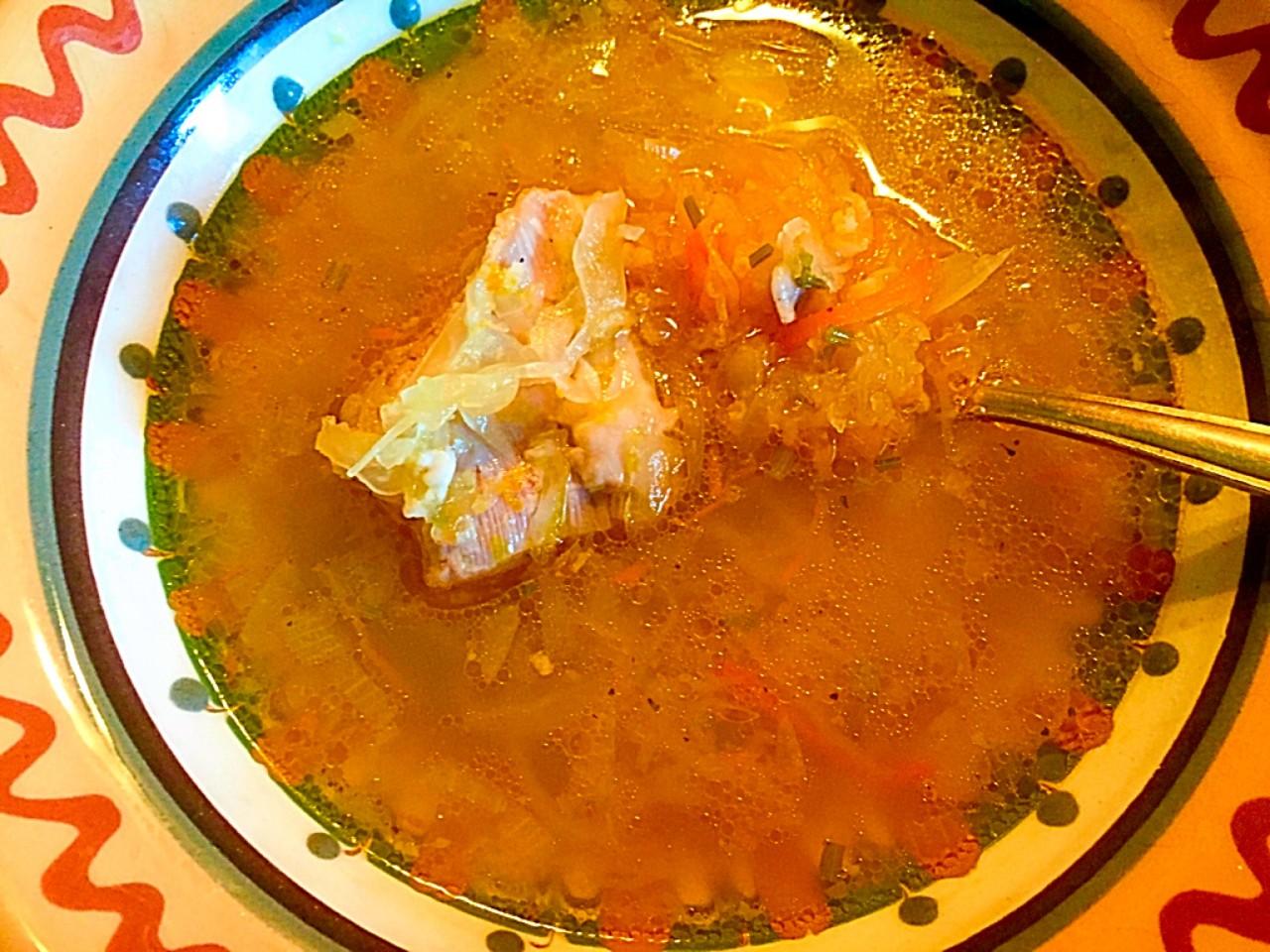 Блюда с квашенной капустой. Первое, второе и компот