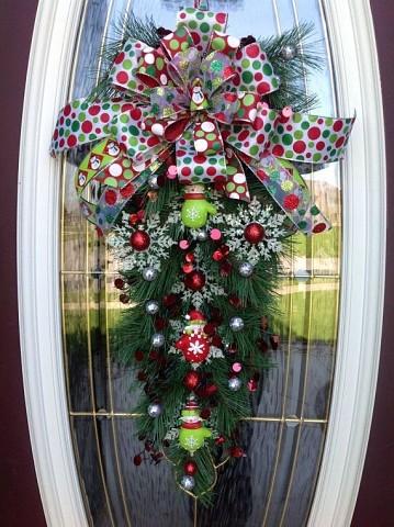 Оцените идею новогоднего декора
