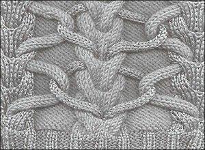 джемпер с косами вязаный спицами1 (300x220, 74Kb)