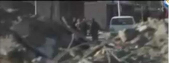 Взрыв французского штаба в Ракке