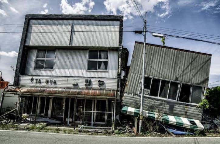 Разрушение цивилизации зона отчуждения, радиоактивная зона, фото, фукусима, япония