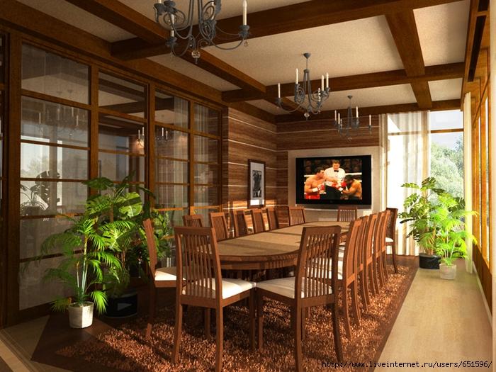 Дизайн веранды на даче