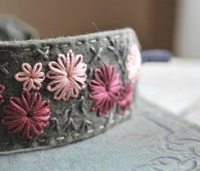 Вышивальное — тамбурный шов и его сочетания с разными техниками вышивки