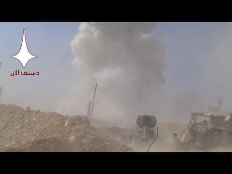 Опубликовано видео уничтожения позиций боевиков в Сирии «Змеем Горынычем»