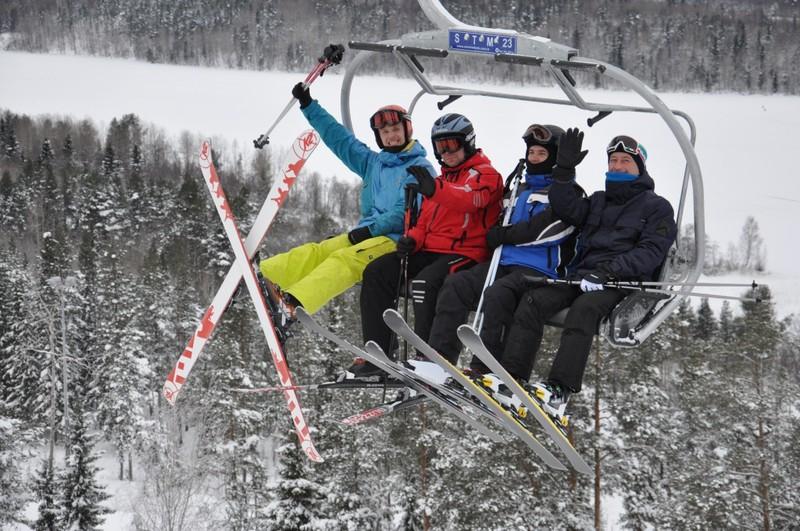 Ялгора, Карелия зима, курорт, лыжи, отдых