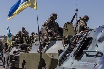 Украинские националисты развязали в Донбассе бомбовую войну против ВСУ