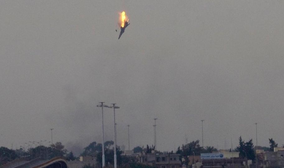 Возле границы с Турцией упал истребитель ВВС Сирии