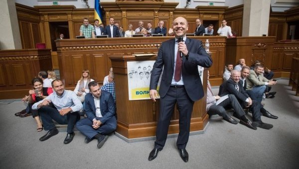 Пока на Украине мерзнет насе…