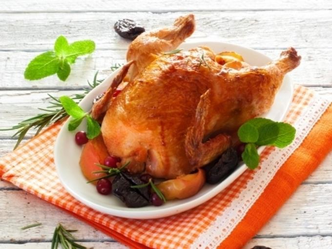 Курица в молоке «Новогодний хит»