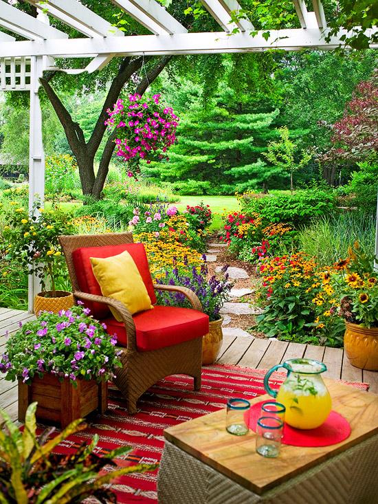 Как сад и дачу красивой своими руками