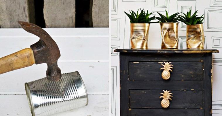 Стильные горшки для комнатных растений за 10 минут