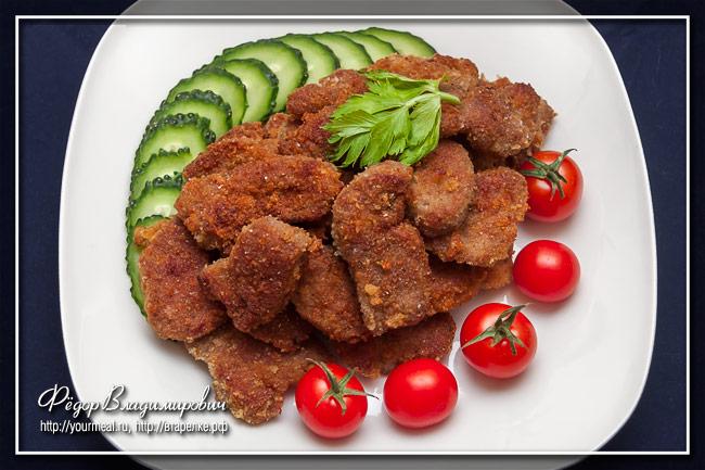 Наггетсы из свинины
