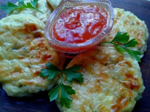 Несладкие сырники в духовке - вкуснейшая закуска