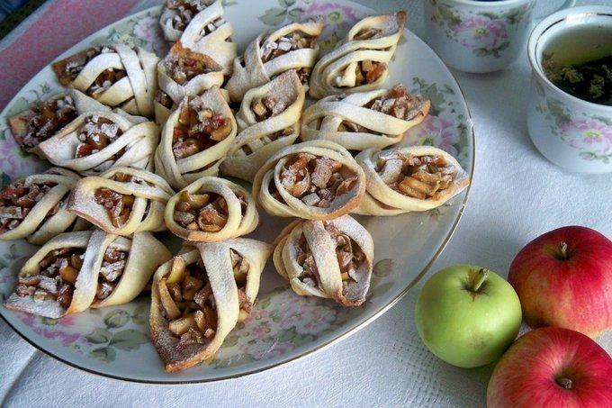 Печенье «Чарох» с яблоками