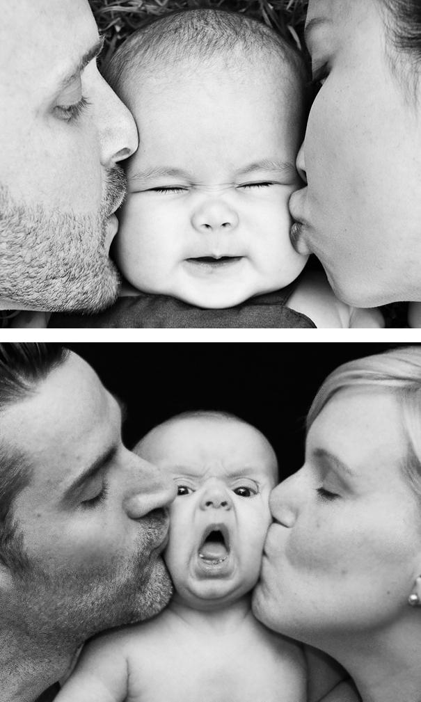 Весёлые провалы родителей, пытавшихся устроить красивую фотосессию своим детям
