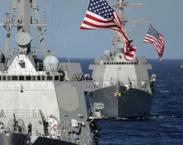 Пафос похода эсминца США к б…