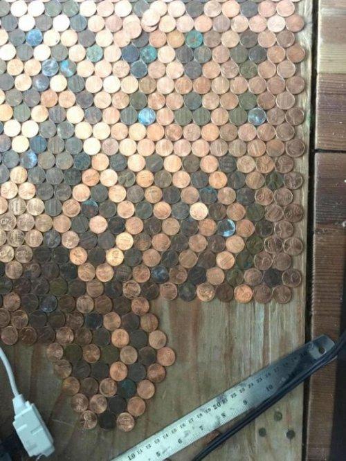 Что бывает, когда у женщины слишком много монет и куча времени (13 фото)