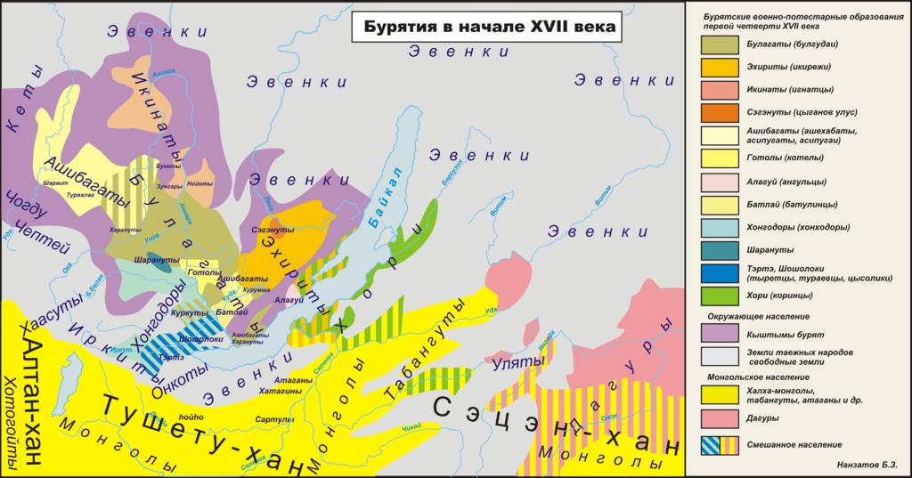 Украинцам о Бурятах