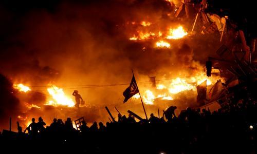 Началось:  Ветеранов «АТО» и «патріотiв» призывают немедленно прибыть на Майдан