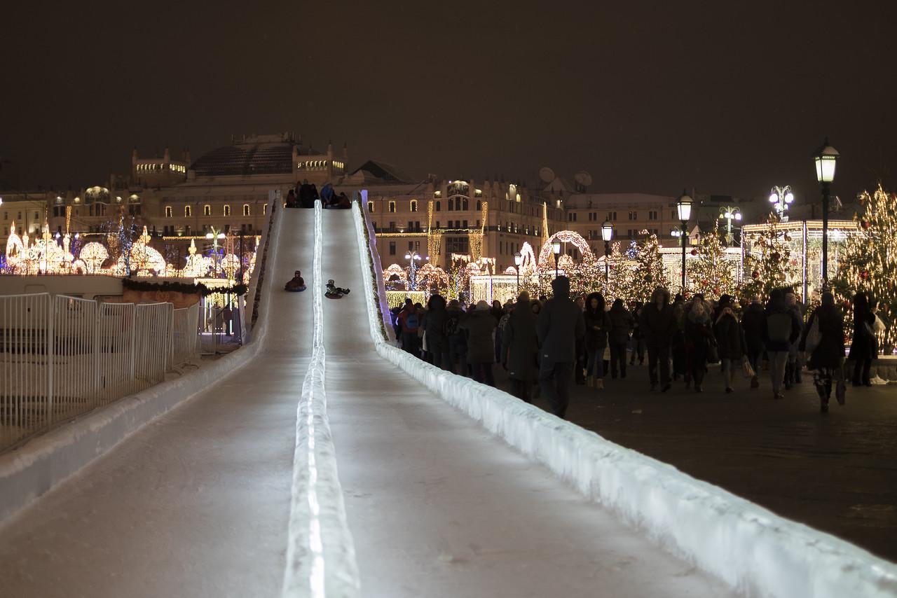 Сумасшедшие аттракционы Москвы
