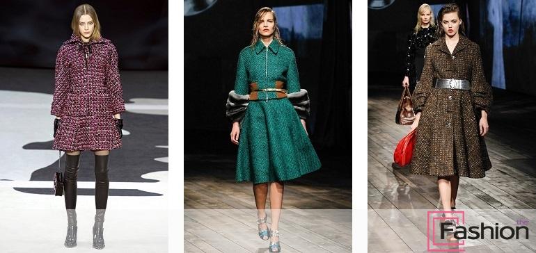 Быть весной модной и стильной поможет пальто из твида.