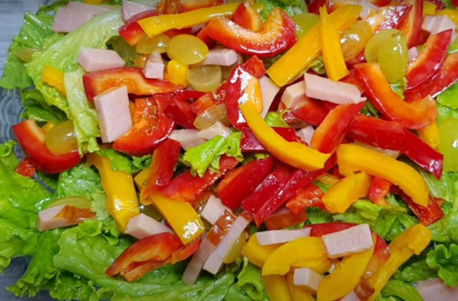 Салат быстрого приготовления