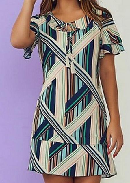 Выкройка симпатичного летнего платья