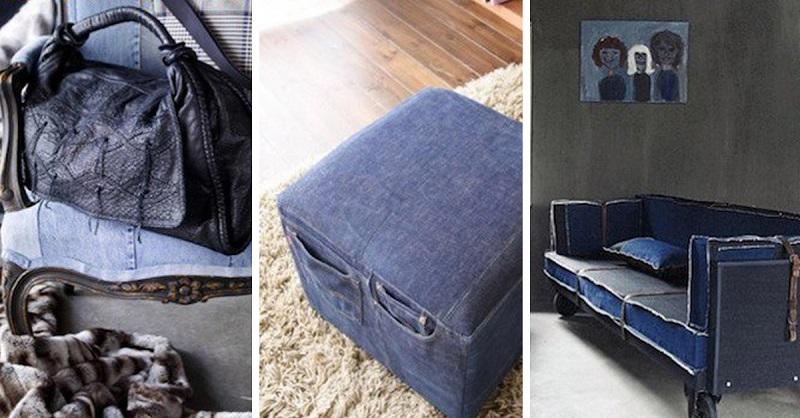 Очередная подборка идей - что можно сделать из джинсов