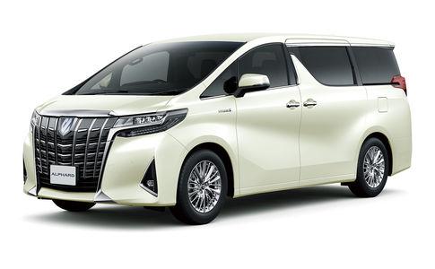 Обновленный Toyota Alphard: маски-шоу и новый силовой агрегат