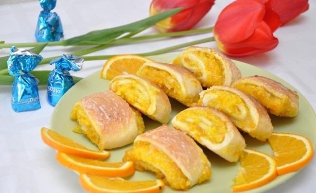 Простой рецепт самого вкусного апельсинового печенья