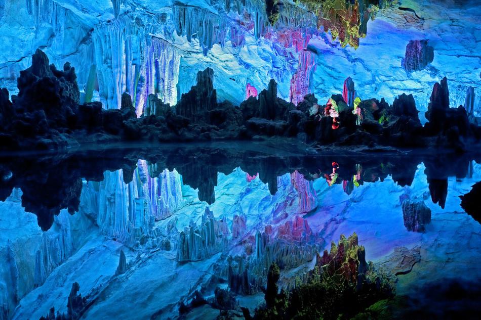 Пещеры Рэд Флют, Гуаньси, Китай геология, история с географией, красота, скалы