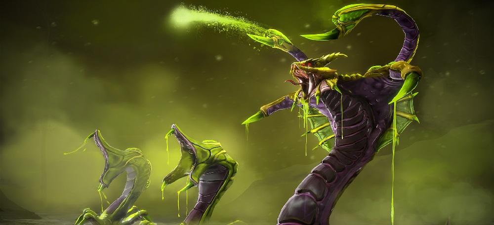Venomancer — сильнейший кор-герой поддержки
