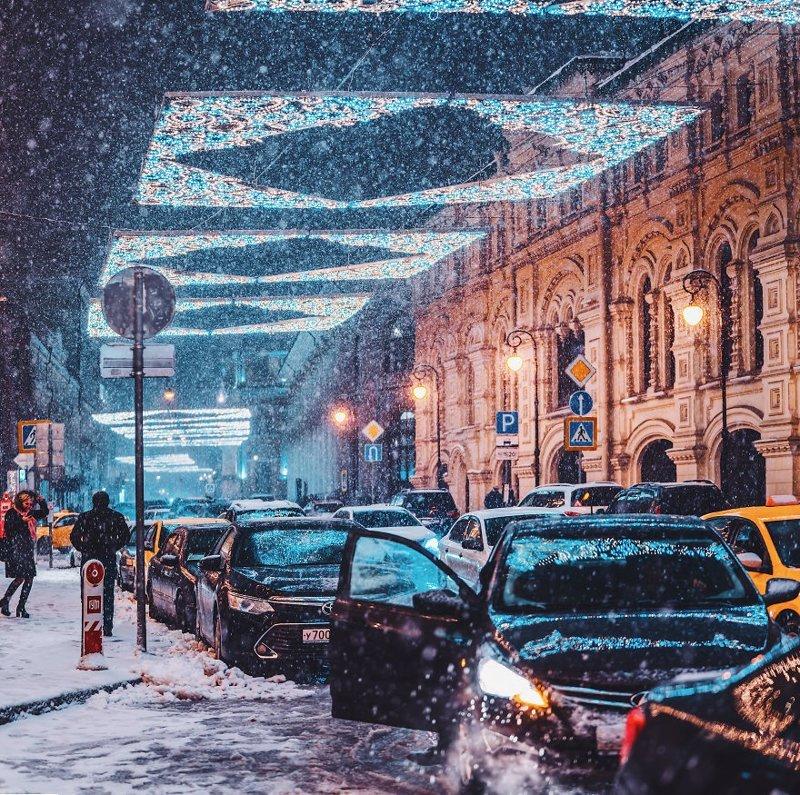 22. достопримечательность, зима, кристина макеева, москва, сказка, снег, фотография, фотомир