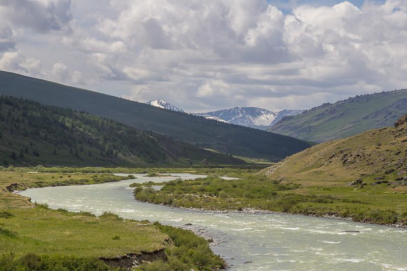 Река Ак-Алаха - главная река Укока. алтай, путешествия, россия, укок, фото