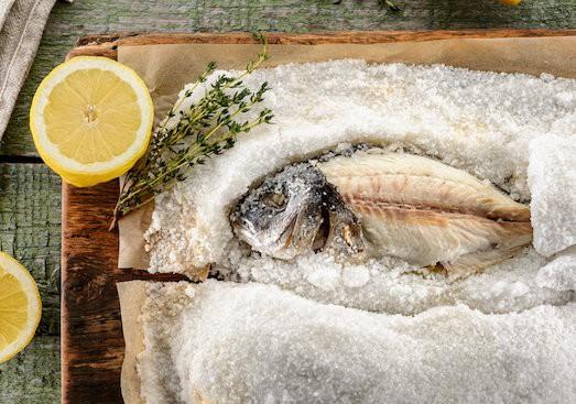 Дорадо на соли в духовке рецепт