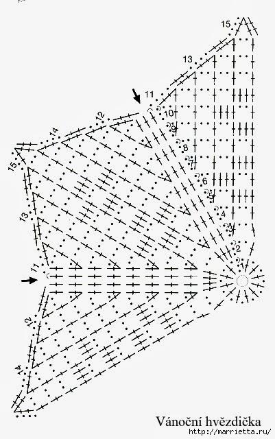 Вязание крючком. СНЕЖИНКИ (7) (401x640, 160Kb)