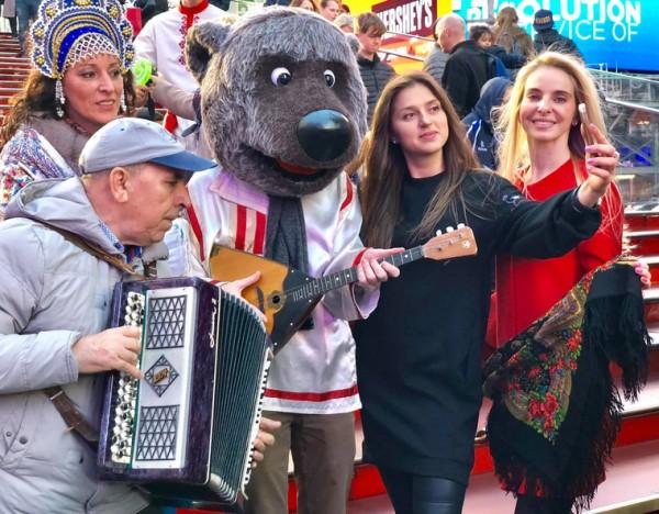 День народного единства России отметили в центре Нью-Йорка