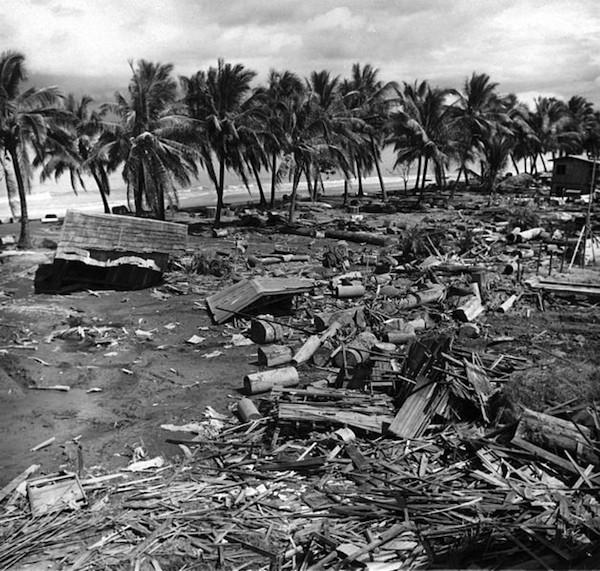 1976 год, землетрясение залива Моро и цунами вода, интересное, познавательное