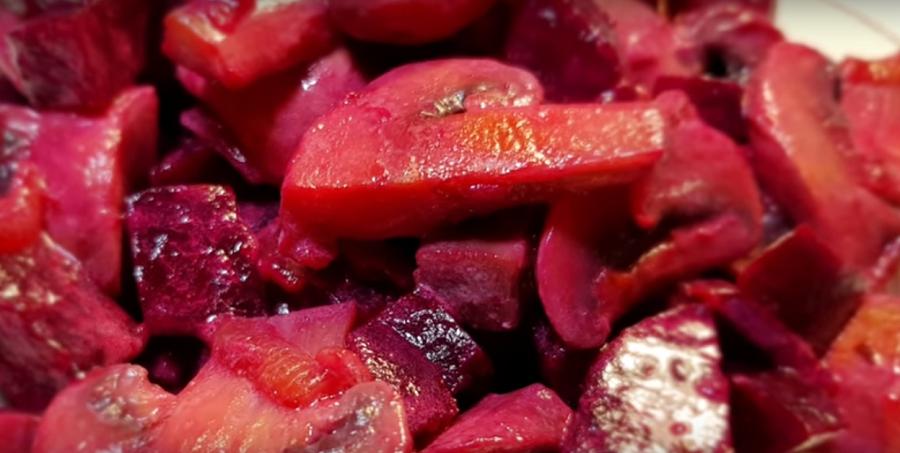 Нежнейший салат из свеклы без майонеза