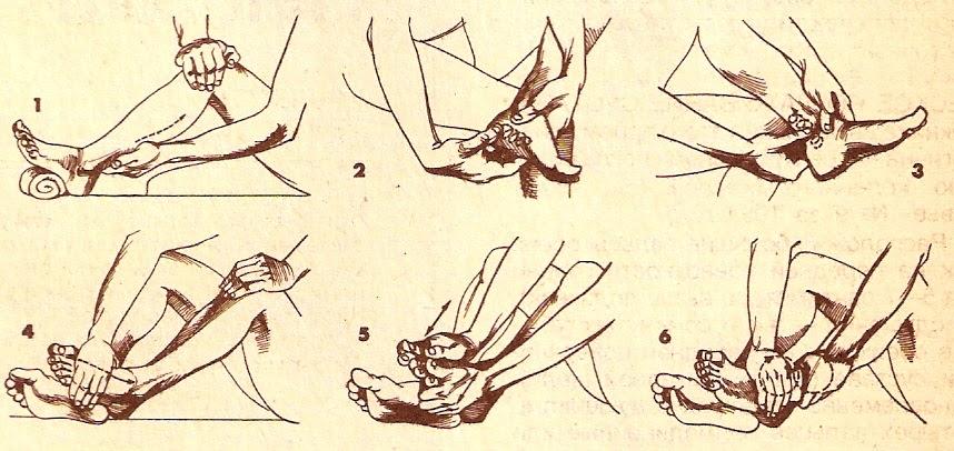 Самомассаж для активации кровотока в ногах