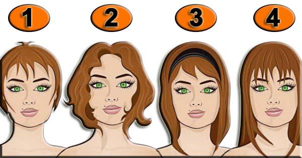 Определите свою длину волос …