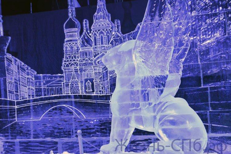 Впечатление от посещения Фестиваля ледовых скульптур в Петербурге