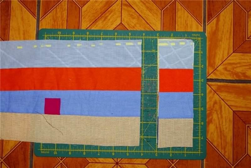 Для того чтобы вырезать квадраты правильно, важно пользоваться шаблоном или линейкой