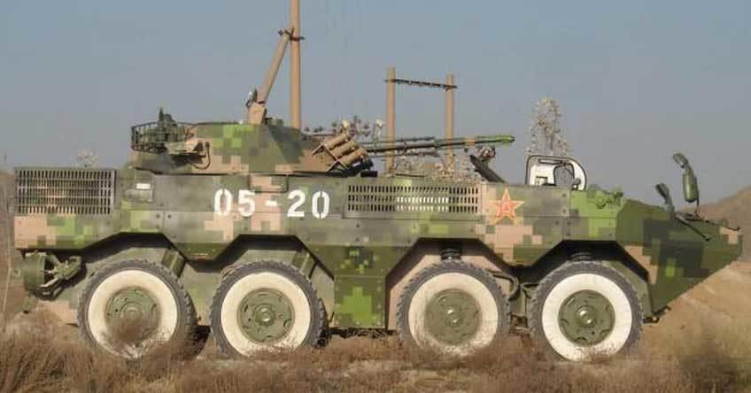 Таиланд вооружится китайскими БТР